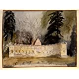 The Temple of British Worthies, Stowe, Gloucestershire, by John Piper (Print On Demand)