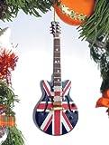 Union Jack Guitar Tree Ornament