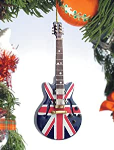 Amazon.com - Union Jack Guitar Musical Music Instrument ...