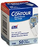 Bayer Contour Mail Order Test Strips, 50 CT