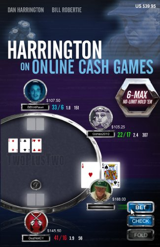Harrington on Online Cash Games; 6-Max No-Limit Hold 'em