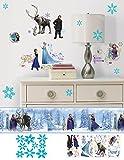 Disney Frozen Elsa & Anna Peel and Sitck Wall Border 4 Roll Makeover Bundle