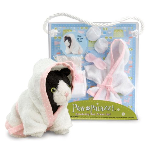 Pawparazzi Pets Day At the Spa Dress up Set By Noodle Head - 1