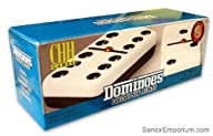 CHH – Domino Double Six – Black & Whi…