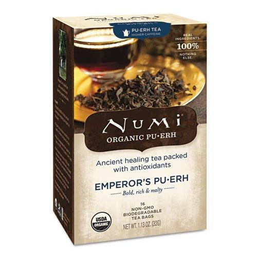 Numi Organic - Pu-Erh Tea Emperor'S - 16 Tea Bags
