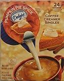 International Delight, Pumpkin Spice Non Dairy Coffee Creamer, 24 Count, 15oz Box (Pack of 3)