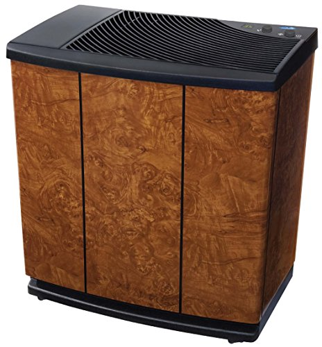 Best Buy! Essick Air H12-400HB 3-Speed Whole House Evaporative Console Humidifier, Oak Burl