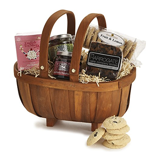 Beautiful Lakeland Orchard Afternoon Tea Christmas Gift Trug