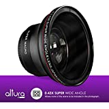 58MM 0.43x Altura Photo Professional HD Wide Angle Lens (w/ Macro Portion) for CANON Rebel (T6s T6i T5i T5 T4i T3i T3 T2 T2i T1i XT XTi XSi XS SL1), CANON EOS (1100D 700D 650D 600D 550D 500D 450D 400D 350D 300D 100D 60D 7D)