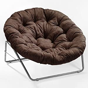 Roundabout Chair With Cushion In Cocoa Camping Chairs
