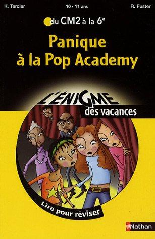 Panique à la Pop Academy (French Edition)