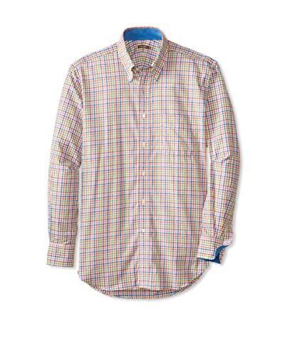 J. McLaughlin Men's Carnegie Plaid Shirt