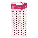 Papermania Capsule Adhesive Stones - Red
