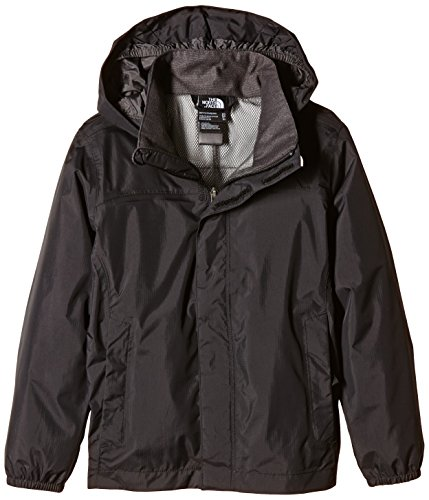 North Face B Reflective Resolve Giacca da ragazzo, Nero, Medium