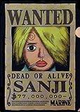 『ONE PIECE ANIMATION 10th ANNIVERSARY』ローソンオリジナル ワンピース クリアファイル 【5.サンジ】(食玩)