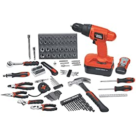 Black & Decker 133-pc. 18V Home Project Kit