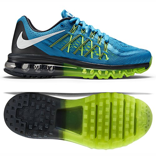info for 1fde5 1f01b Nike Air Max 2015 Womens Running Shoes Blue New In Box