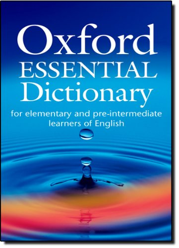 Oxford Essential Dictionary Pocket Book and CD-ROM
