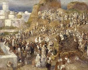 Reproduction de tableau de pierre auguste renoir poster for Renoir maison classique