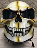 Casque intégral Skull Super hingucker Biker Harley, occasion d'occasion  Livré partout en Belgique