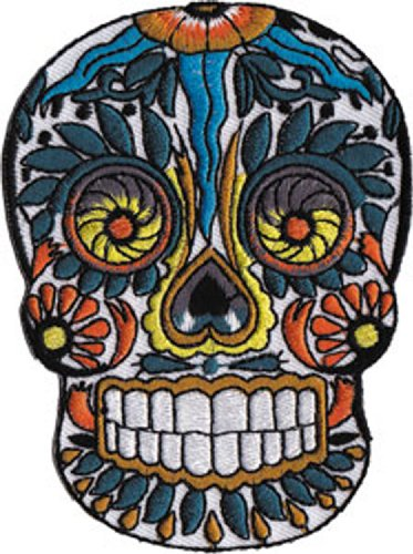Application Candy Skull Patch