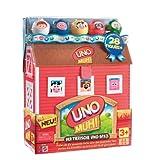 Mattel N7793-0 - UNO Muh!, Kinderspiel
