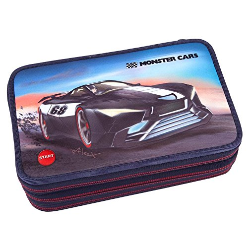 triple-pencil-case-monster-cars-6523-led-function