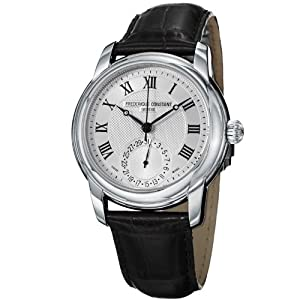 Frederique Constant Men's FC710MC4H6 Maxime Black Leather Strap Watch