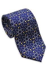 Atom Molecules - Men's Silk Necktie