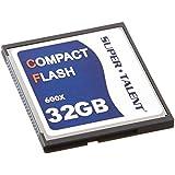 Super Talent 32 GB Flash Memory Card CF/32-600X