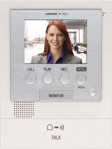 Aiphone Jf-2Med Master Station For Jf Series Audio/Video Intercom System, For Up To Two Door And Two Sub-Master Stations front-710554
