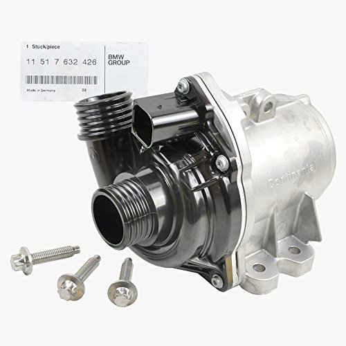 BMW Engine Water Pump Electric + Bolts (Turbocharged Engine) Genuine OE (Bmw Water Pump compare prices)