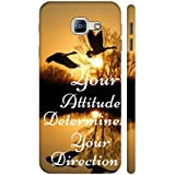 AMAN Your Attitude Your Direction 3D Back Cover For Samsung Galaxy A8 2016