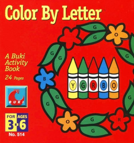 Color By Letter - Crayons