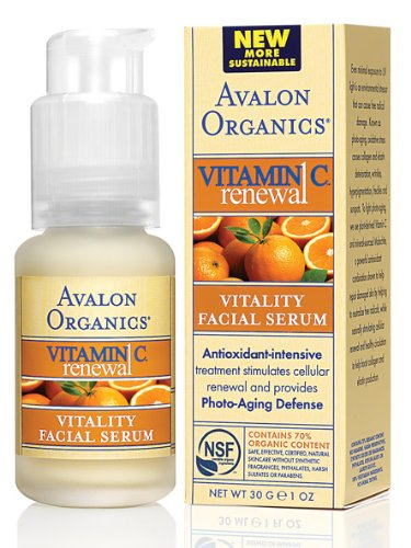 Avalon Active Organics Vitality Facial Serum with Vitamin C 30 ml