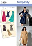 Simplicity Sewing Pattern 2338 Misses'  and Plus Size Day to Evening Dresses, AA (10-12-14-16-18) thumbnail