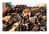 Merchants of Tea Premium Black Tea with Fruits and Spices, Crystal Claret, 100-Gram
