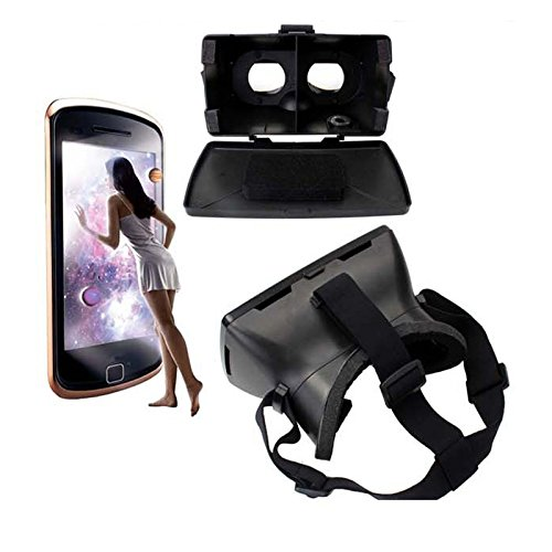 iBlue Universal 3D Virtual Reality VR Glasses Headset Private Theater with Magnetic Sensor for 3.5 - 6 inch Smartphone