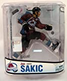 McFarlane Toys NHL Sports Picks Series 18 Action Figure: Joe Sakic 3 (Colorado Avalanche) Maroon Jersey VARIANT at Amazon.com