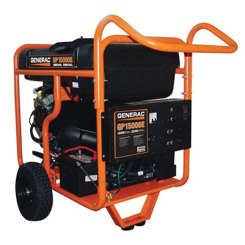 Generac 5734, 15000 Running Watts/22500 Starting Watts, Gas Powered Portable Generator (Gas Generator 15000 Watts compare prices)