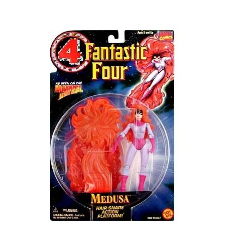 Fantastic Four Medusa Action Figure - 1