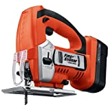 Bare-Tool Black & Decker 18 Volt Cordless Jigsaw FS18JS (Tool only, No Battery)