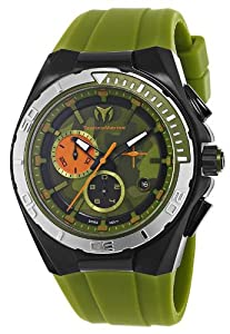 Technomarine Cruise Camouflage Chronograph PVD Coated Steel Mens Sport Watch 110070