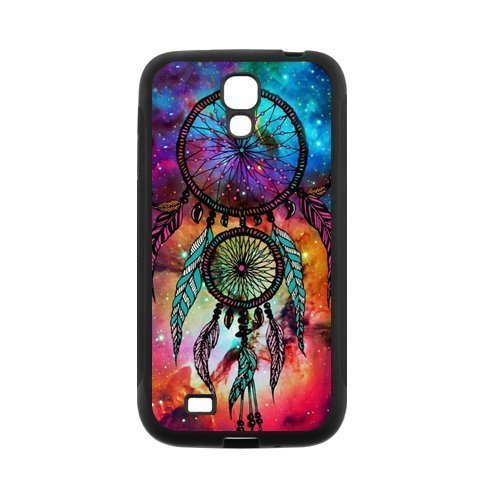 Space Nebula DreamCatcher Protective Rubber Back Fits Cover Case for SamSung Galaxy S4 (Samsung Galaxy S4 Ford Case compare prices)