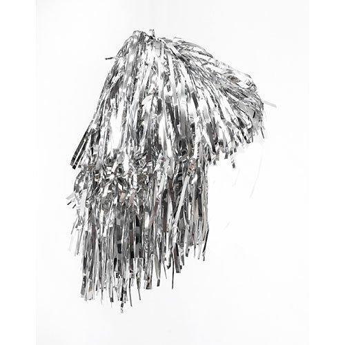 Foil Wig Silver