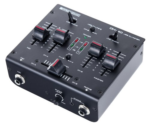 Pronomic dx 40 usb table de mixage dj dj gear buy online free - Table de mixage yamaha usb ...