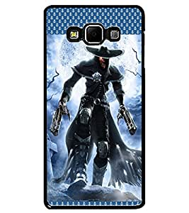 ColourCraft Warrior Design Back Case Cover for SAMSUNG GALAXY A7