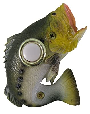 Company's Coming DBP-077 Bass Painted Doorbell Cover
