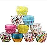 KINGSO 100Pcs Paper Cake Cup Cupcake...