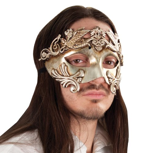 Grecian Renaissance Mask - Halloween Accessories, Halloween Masks